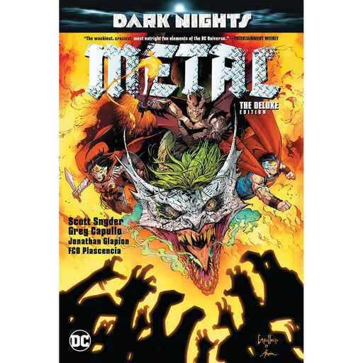 Georgetown Comics - DARK NIGHTS METAL DELUXE ED HC