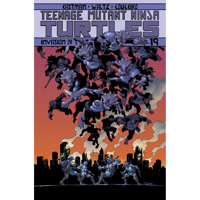 Georgetown Comics - TMNT ONGOING TP VOL 19 INVASION OF THE TRICERATONS