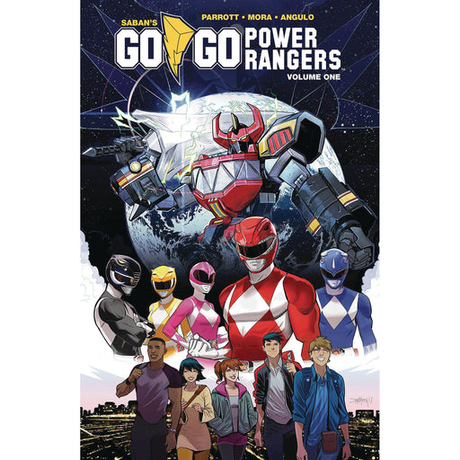 Georgetown Comics - GO GO POWER RANGERS TP VOL 01