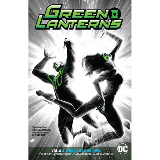 Georgetown Comics - GREEN LANTERNS TP VOL 06 A WORLD OF OUR OWN REBIRTH