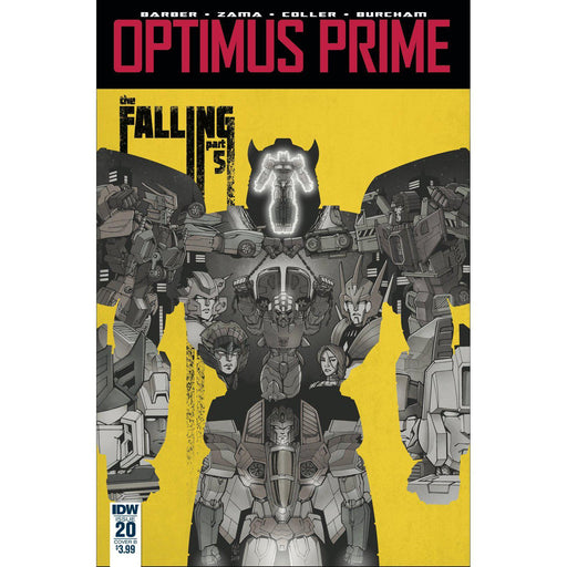 Georgetown Comics - OPTIMUS PRIME #20 CVR B COLLER