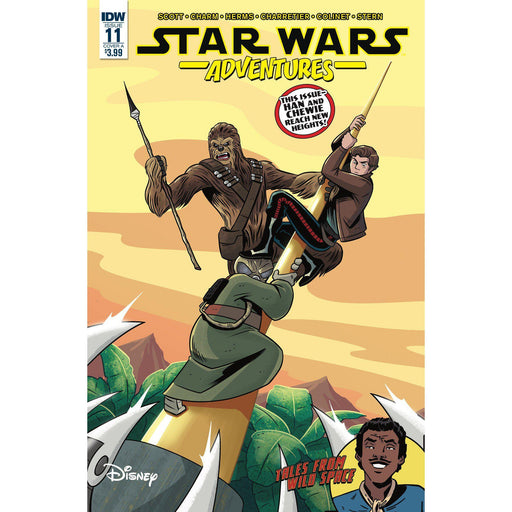Georgetown Comics - STAR WARS ADVENTURES #11 CVR A CHARM