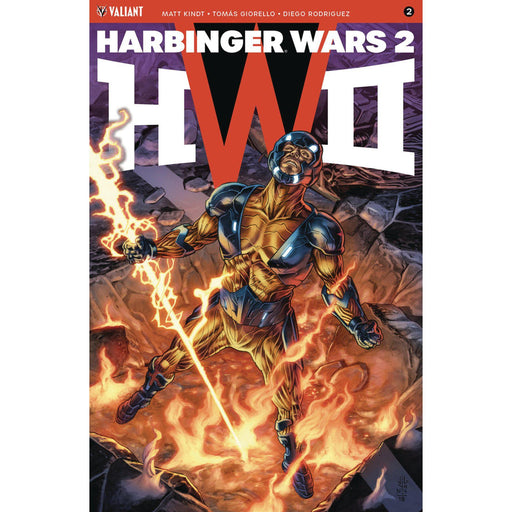 Harbinger Wars 2 #2 (Of 4) Cvr A Jones (Net)-Georgetown Comics