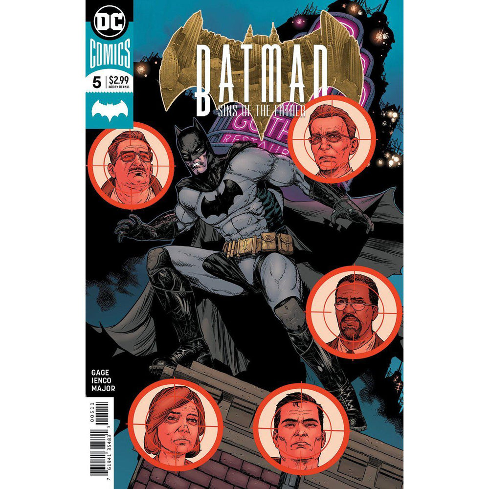 Batman Sins Of The Father #5 (Of 6)-Georgetown Comics