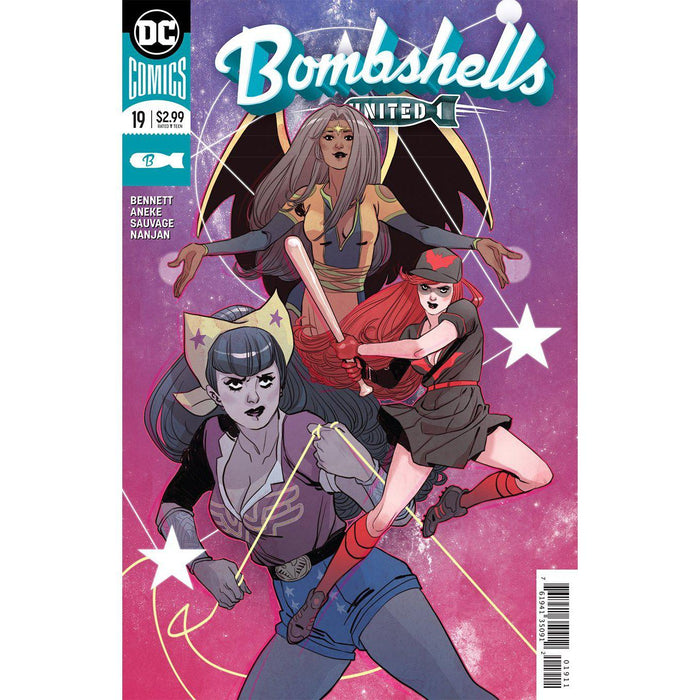 Georgetown Comics - BOMBSHELLS UNITED #19