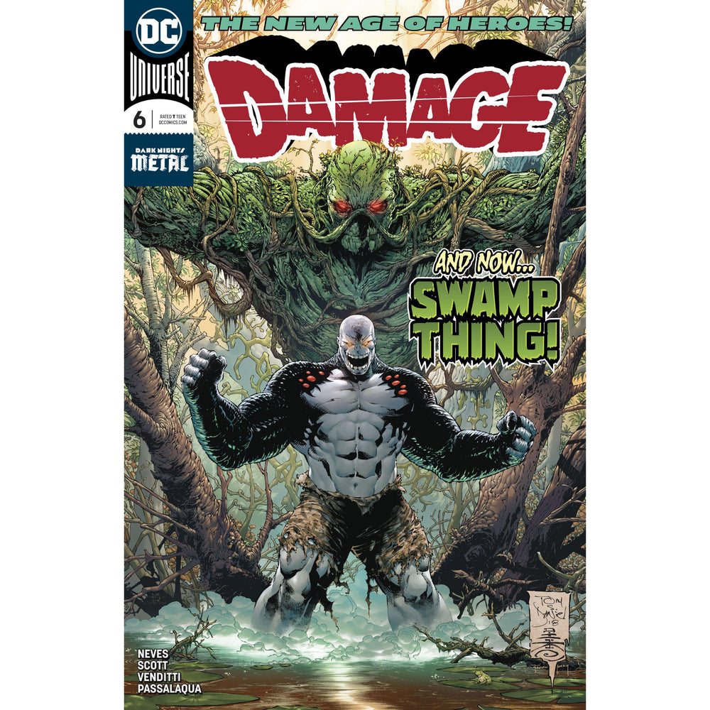 Damage #6-Georgetown Comics