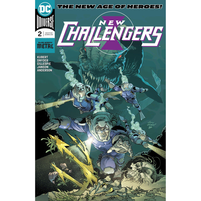 Georgetown Comics - NEW CHALLENGERS #2