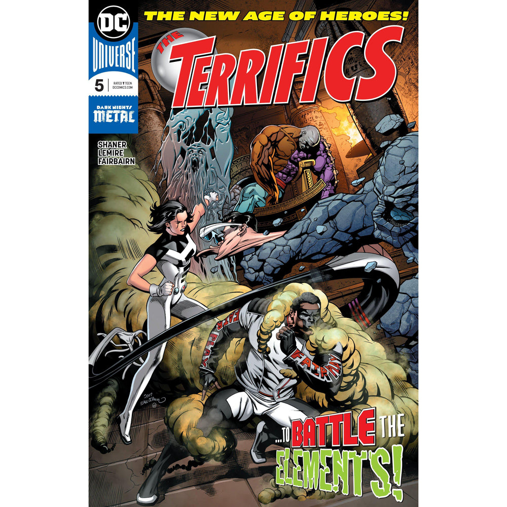 Terrifics #5-Georgetown Comics