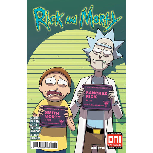 Rick & Morty #39 Cvr A-Georgetown Comics