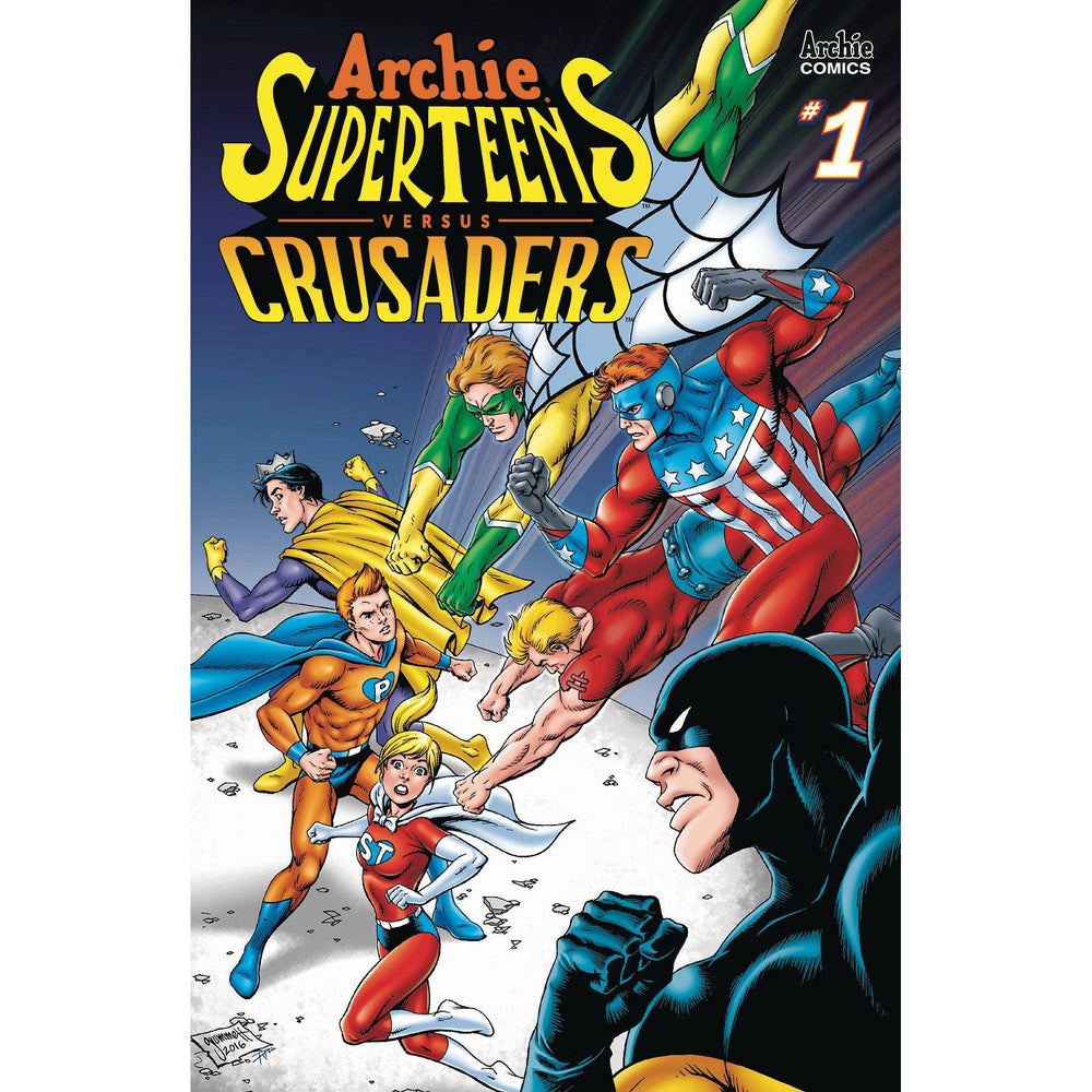 Archies Superteens Vs Crusaders #1 Cvr B Grummett-Georgetown Comics