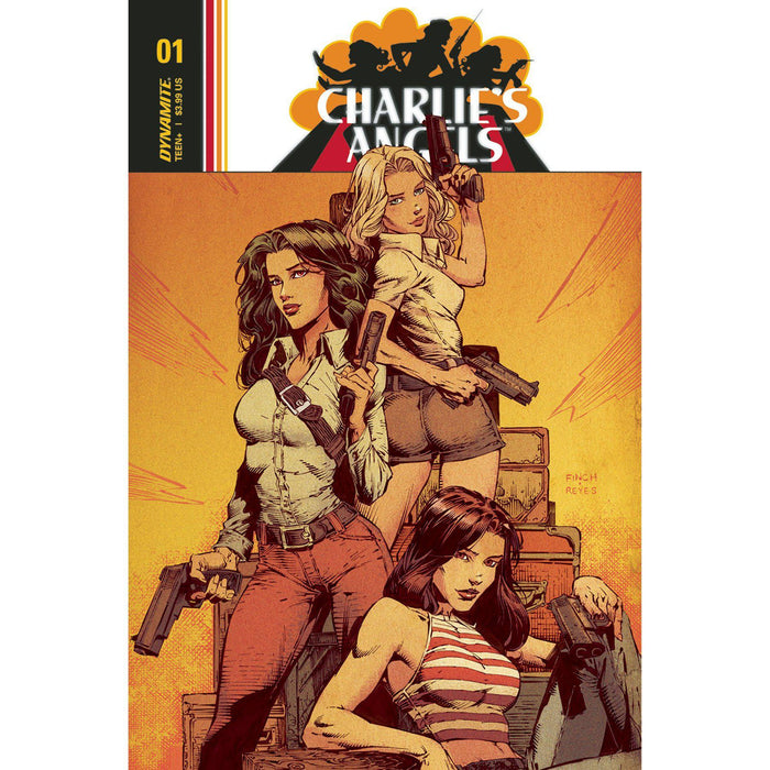 Georgetown Comics - CHARLIES ANGELS #1 CVR A FINCH