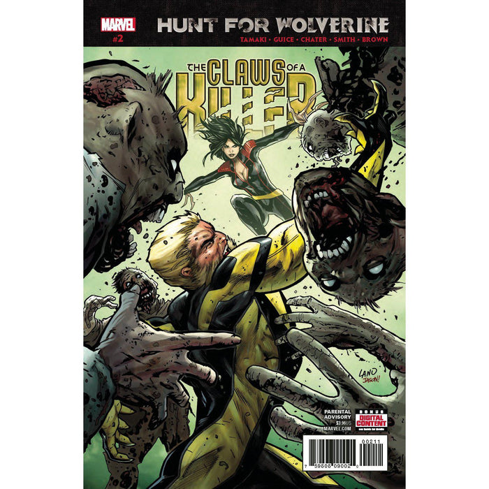 Georgetown Comics - HUNT FOR WOLVERINE CLAWS OF KILLER #2