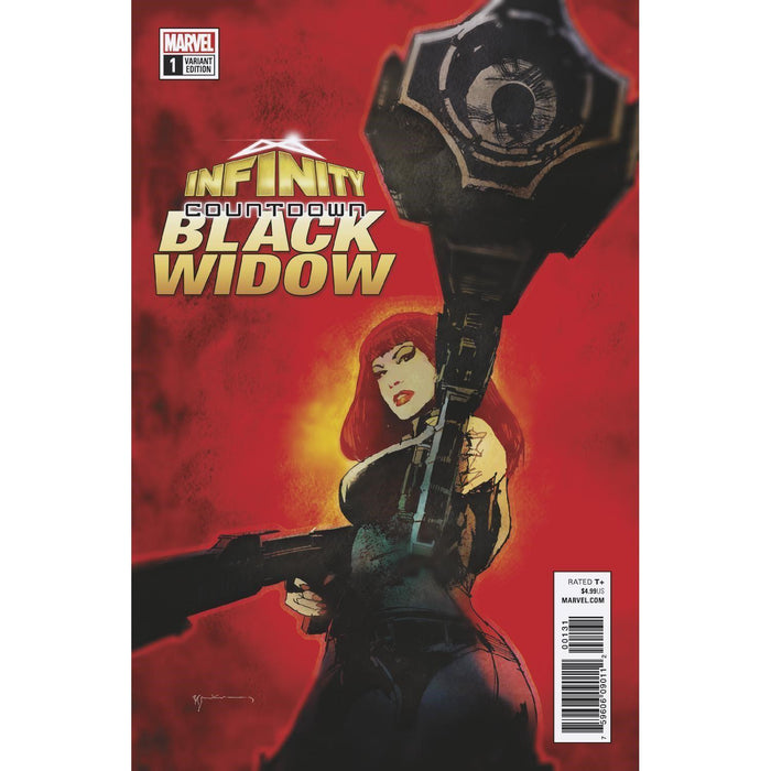 Infinity Countdown Black Widow #1 Seinkiewicz Var-Georgetown Comics