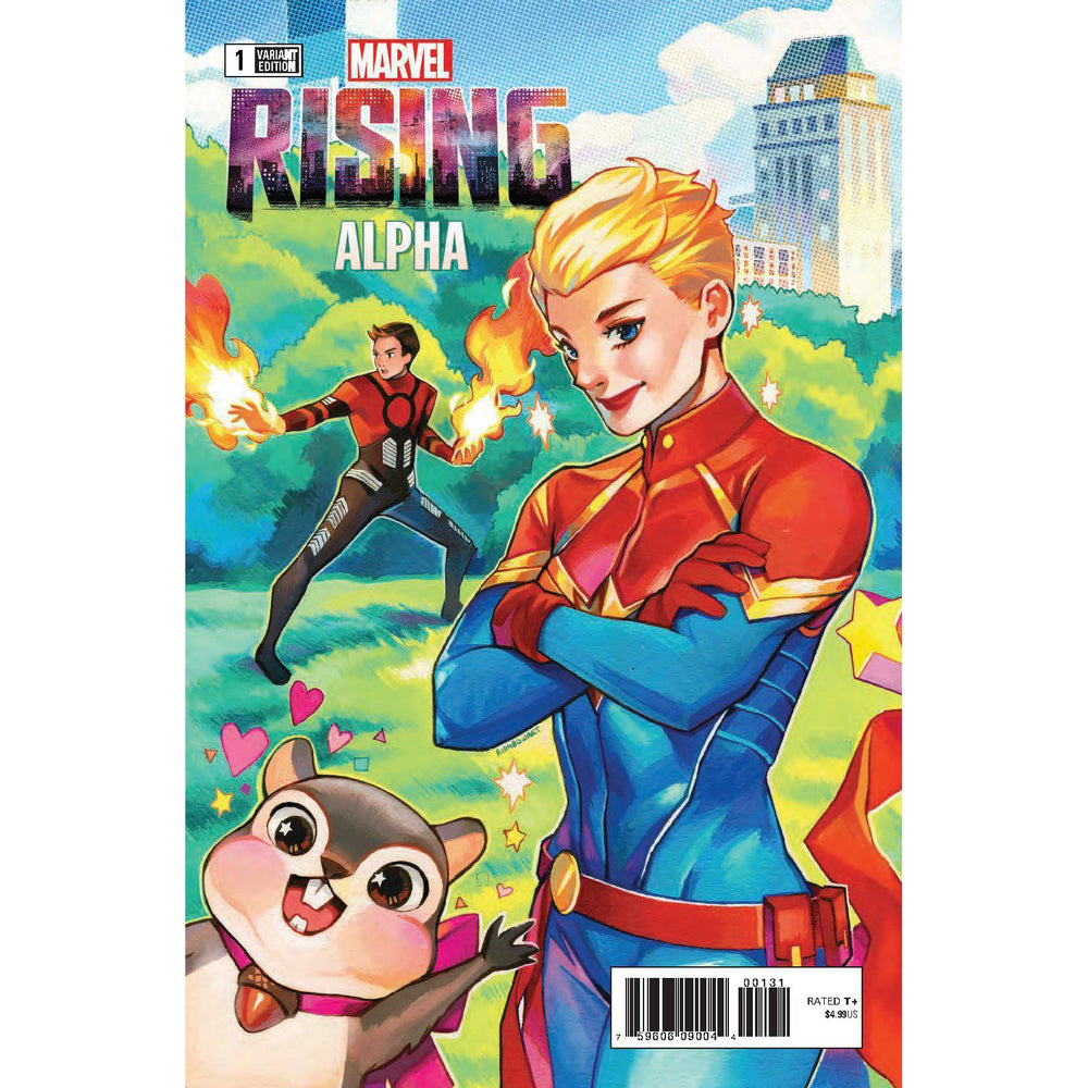 Marvel Rising Alpha #1 Gonzales Connecting Var-Georgetown Comics