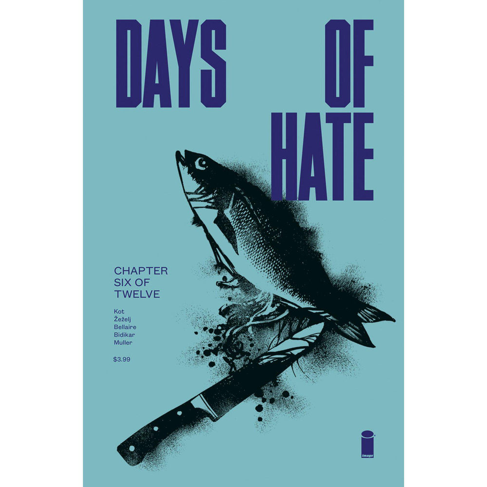 Georgetown Comics - DAYS OF HATE #6 (OF 12)