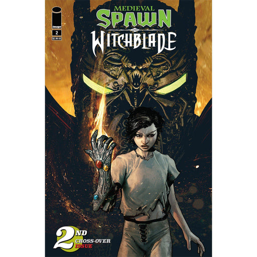 Medieval Spawn Witchblade #2 (Of 4) Cvr A Haberlin-Georgetown Comics