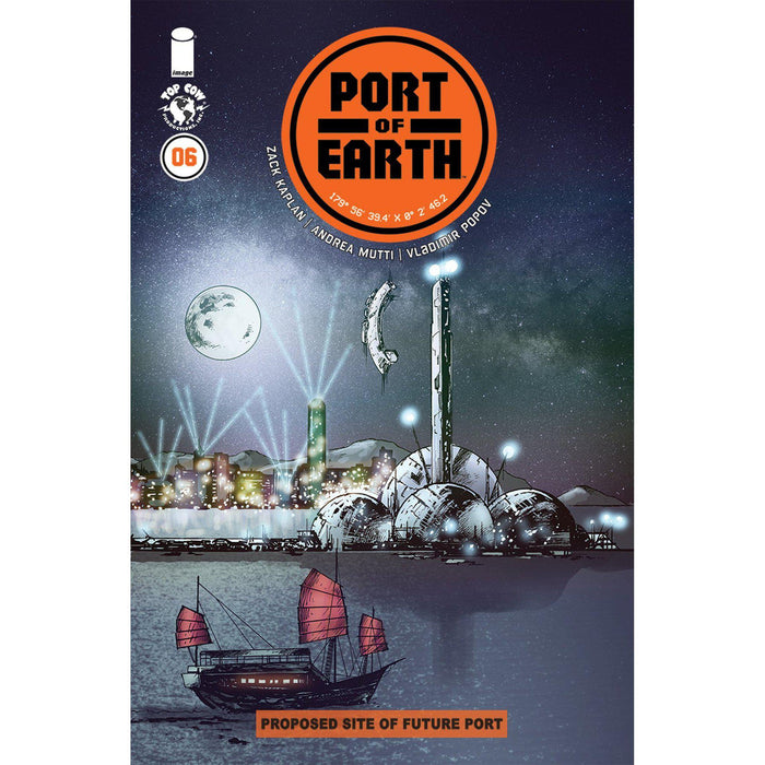 Port Of Earth #6-Georgetown Comics