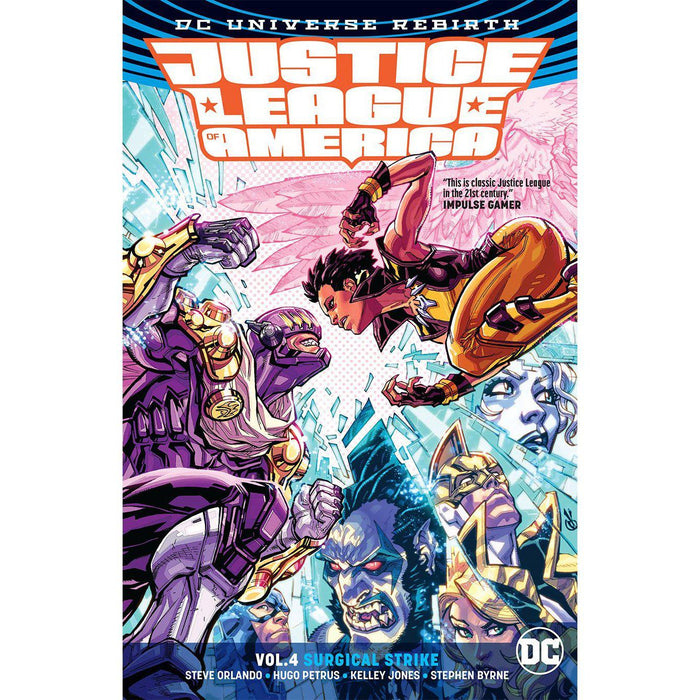 Georgetown Comics - JUSTICE LEAGUE OF AMERICA TP VOL 04 SURGICAL STRIKE