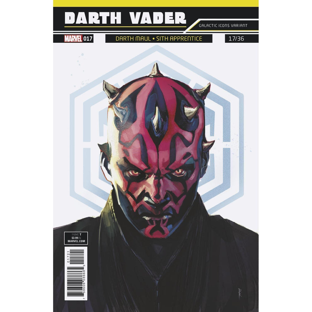 Star Wars Darth Vader #17 Reis Galactic Icon Var-Georgetown Comics