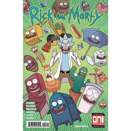 Rick & Morty #40 Cvr A-Georgetown Comics