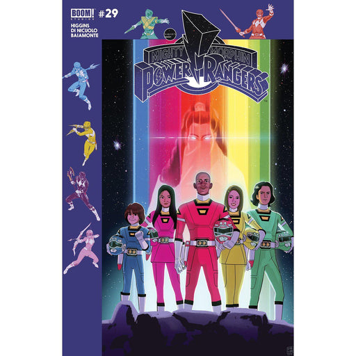 Georgetown Comics - MIGHTY MORPHIN POWER RANGERS #29 SUBSCRIPTION GIBSON VAR SG