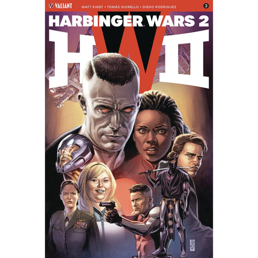 Harbinger Wars 2 #3 (Of 4) Cvr A Jones-Georgetown Comics