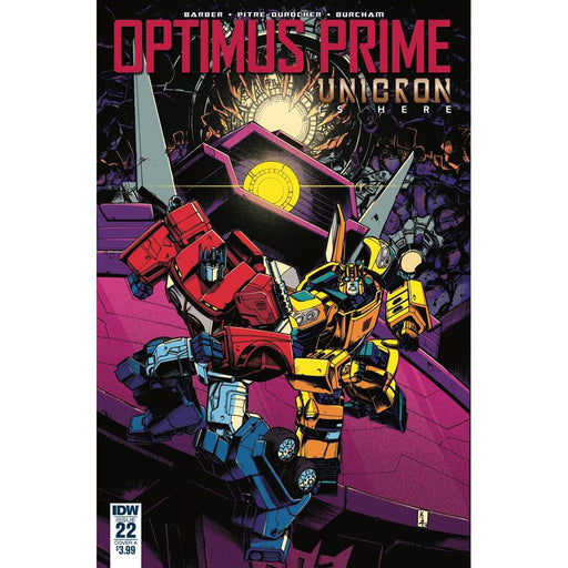 Georgetown Comics - OPTIMUS PRIME #22 CVR A ZAMA
