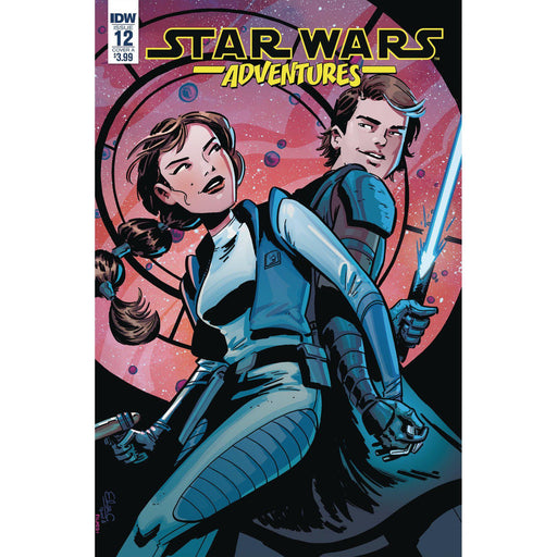 Georgetown Comics - STAR WARS ADVENTURES #12 CVR A CHARRETIER