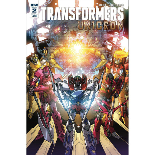 Transformers Unicron #2 (Of 6) Cvr A Milne-Georgetown Comics