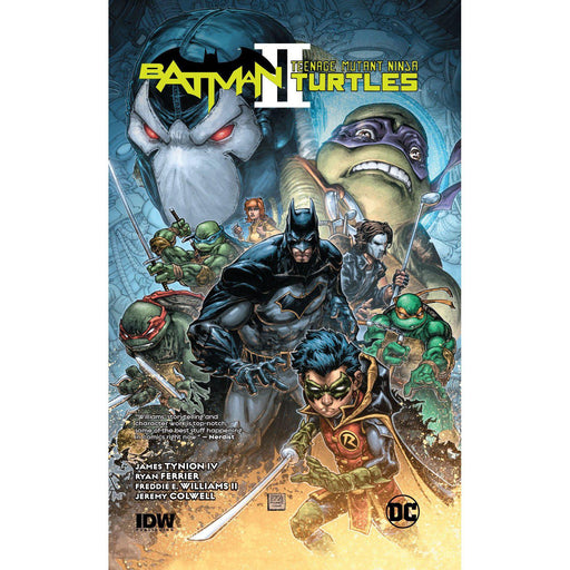 Georgetown Comics - BATMAN TEENAGE MUTANT NINJA TURTLES II HC