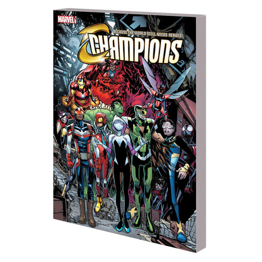 Champions TP Vol 03 Champion For A Day-Georgetown Comics