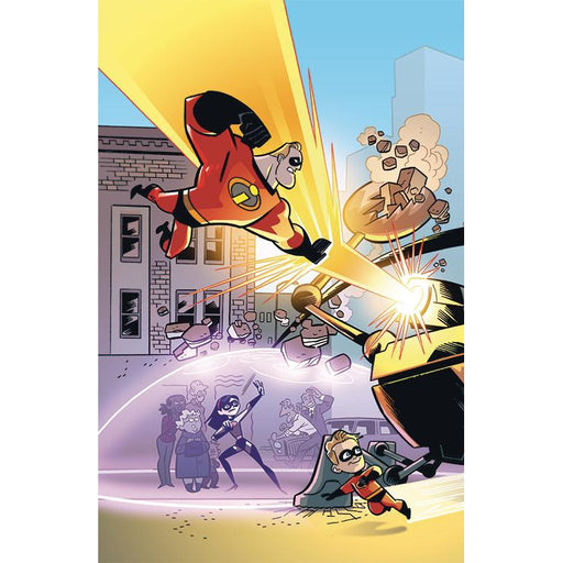 Georgetown Comics - DISNEY PIXAR INCREDIBLES 2 #1 CRISIS MIDLIFE & STORIES CVR B