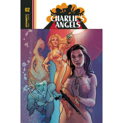 Georgetown Comics - CHARLIES ANGELS #2 CVR A ROUX