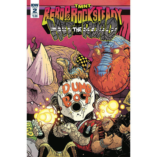 Georgetown Comics - TMNT BEBOP ROCKSTEADY HIT THE ROAD #2 (OF 5) CVR A PITARRA