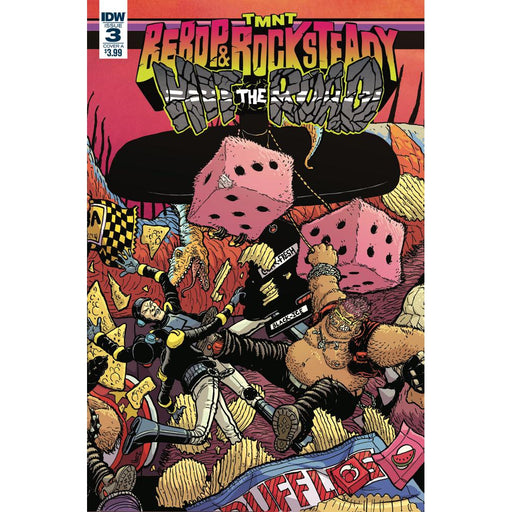 Georgetown Comics - TMNT BEBOP ROCKSTEADY HIT THE ROAD #3 (OF 5) CVR A PITARRA