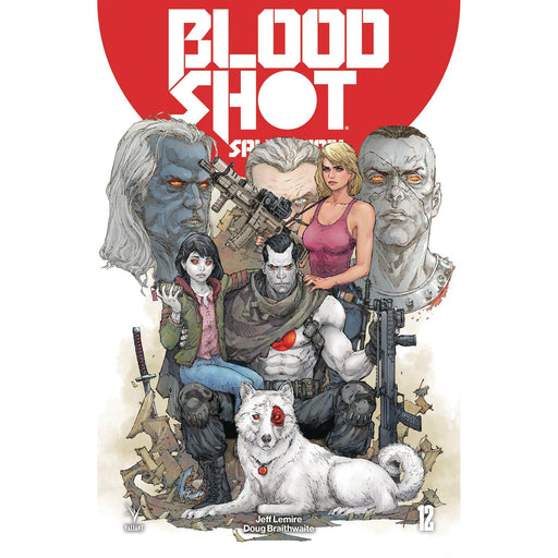 Bloodshot Salvation #12 Cvr A Rocafort-Georgetown Comics