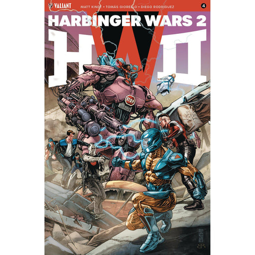 Harbinger Wars 2 #4 (Of 4) Cvr A Jones-Georgetown Comics
