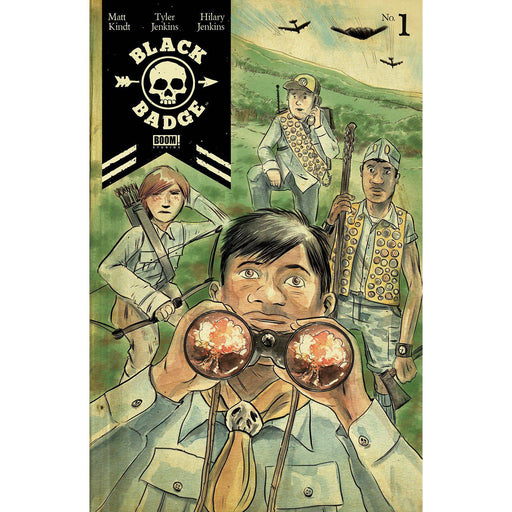 Georgetown Comics - BLACK BADGE #1 MAIN & MIX