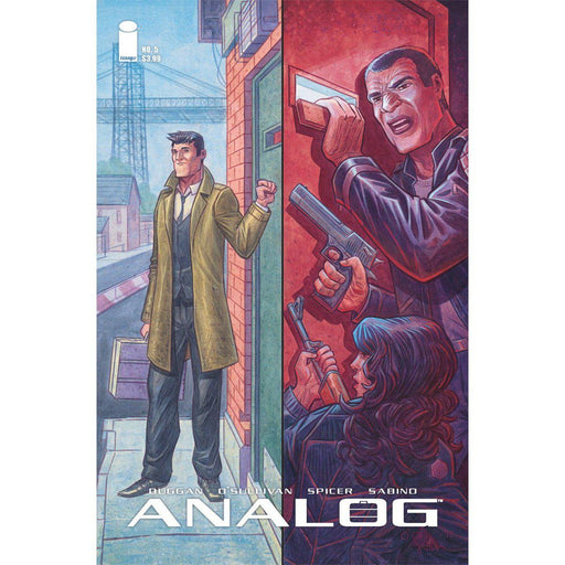 Georgetown Comics - ANALOG #5 CVR A O SULLIVAN (MR)