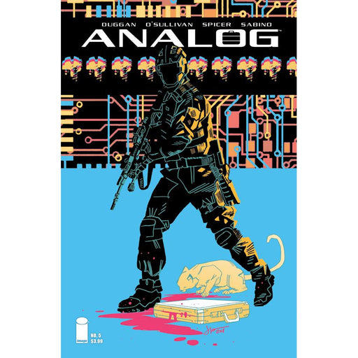 Georgetown Comics - ANALOG #5 CVR B LATOUR (MR)