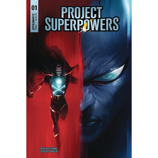 Georgetown Comics - PROJECT SUPERPOWERS #1 CVR A MATTINA