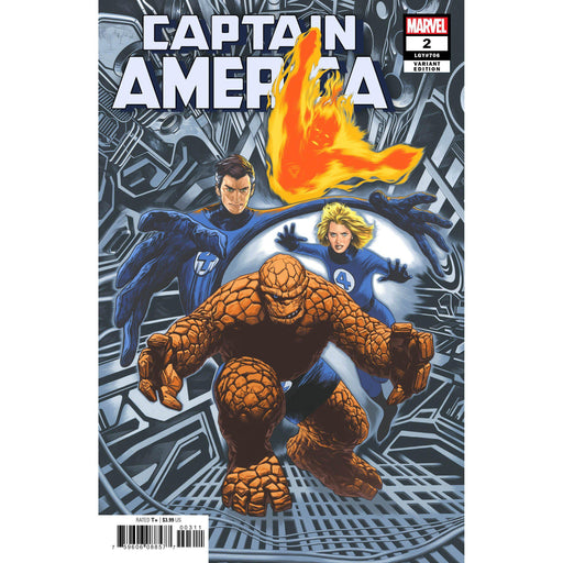 Georgetown Comics - CAPTAIN AMERICA #2 CHAREST RETURN OF FANTASTIC FOUR VAR