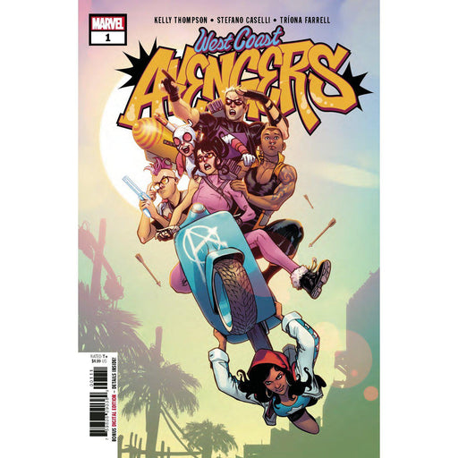 West Coast Avengers #1-Georgetown Comics