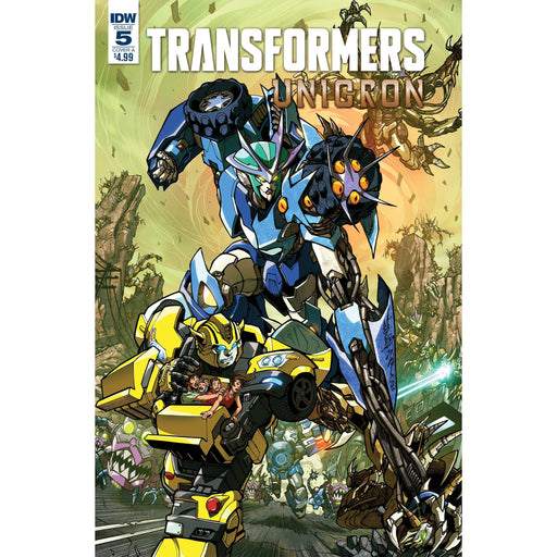 Transformers Unicron #5 (Of 6) Cvr A Milne-Georgetown Comics