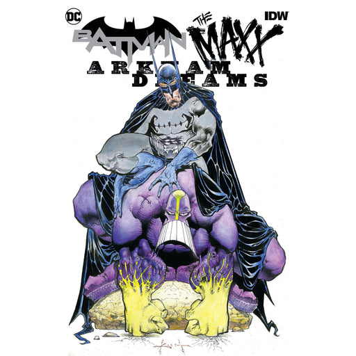 Batman The Maxx #1 (Of 5) Arkham Dreams Cvr B Kieth-Georgetown Comics