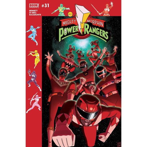 Mighty Morphin Power Rangers #31 Subscription Gibson Var Sg-Georgetown Comics