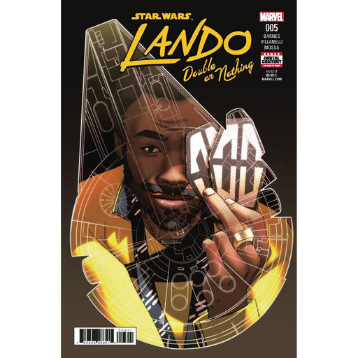 Star Wars Lando Double Or Nothing #5 (Of 5)-Georgetown Comics