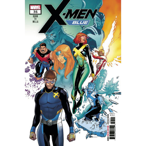 X-Men Blue #35-Georgetown Comics