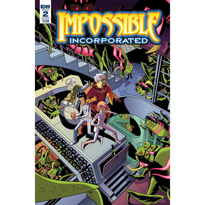 Impossible Inc #2 (Of 5)-Georgetown Comics