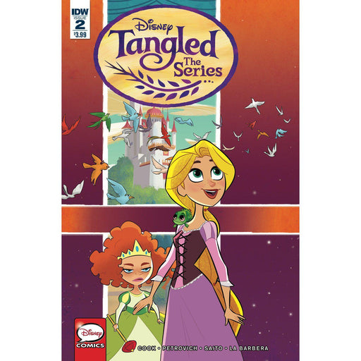 Tangled Hair Raising Adventures #2 (Of 3) Cvr A Petrovich-Georgetown Comics